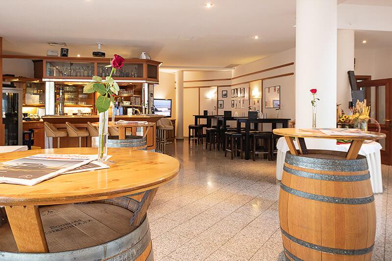 Die Lobby von limburgerhof hotel & residenz