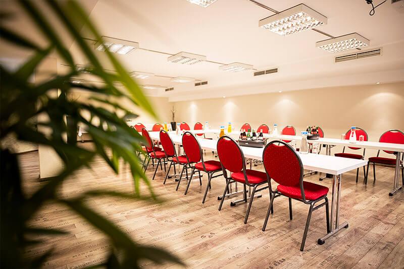 Ein Tagungsraum von limburgerhof hotel & residenz
